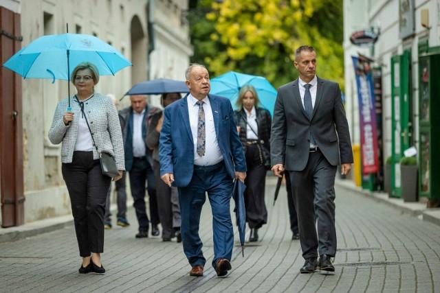 Delegacja powiatu przemyskiego pojechała do partnerskiego powiatu Heves na Węgrzech.