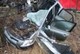 Tragiczny wypadek na trasie Tworków-Bolesław. Trzy osoby nie żyją [zdjęcia]