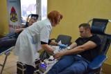 Strażacy oddają krew. W komendzie w Zduńskiej Woli powstało koło honorowych krwiodawców