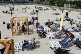 Sezon na Wyspie Grodzkiej w Szczecinie otwarty! Tak było w pierwszy dzień plażowania. ZDJĘCIA