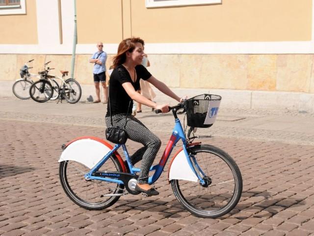 W systemie Toruńskiego Roweru Miejskiego zarejestrowało się ponad 1,5 tys. osób