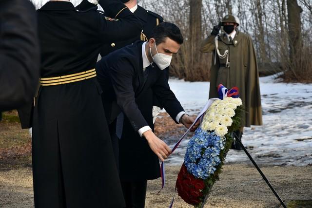 Minister obrony i wicepremier Republiki Słowenii Matej Tonin odwiedził Gorlice