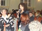 Dzień Kobiet w Pleszewie. 9 lat temu panie bawiły się przy piosenkach Haliny Frąckowiak