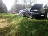 Zderzenie pod Zbąszyniem. Kierowca Mazdy był poszukiwany!  [ZDJĘCIA]