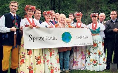 Wojewódzki finał sprzątania świata odbył się w Koszęcinie