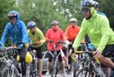 Uczestnicy XV Pielgrzymki Rowerowej wyruszyli z Dobrkowa na Jasną Górę. Zobaczcie zdjęcia!