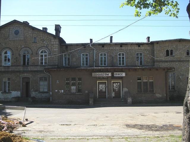 Stacja kolejowa w Boguszowie-Gorcach