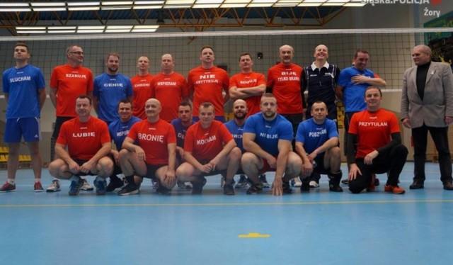 Zawodnicy podczas meczu ubiegłym roku.