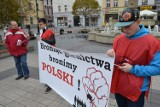 Akcja protestacyjna Sierpnia 80 w Rybniku [ZDJĘCIA]