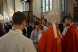 Uroczystość Sakramentu Bierzmowania w parafii pw. Najświętszego Serca Pana Jezusa w Augustowie [Zdjęcia]