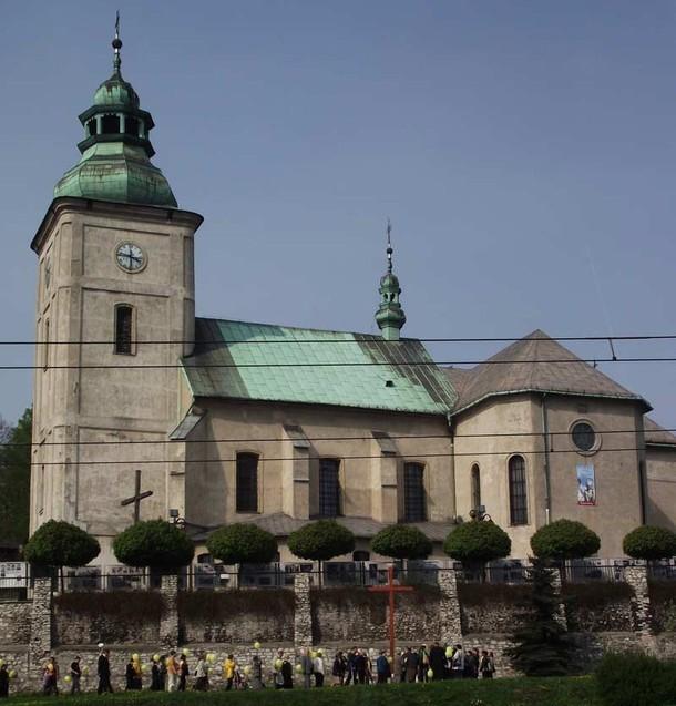 św. Trójcy (Będzin) z XIV wieku