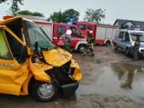 Lulkowo: zderzenie trzech pojazdów na DK15 [FOTO]