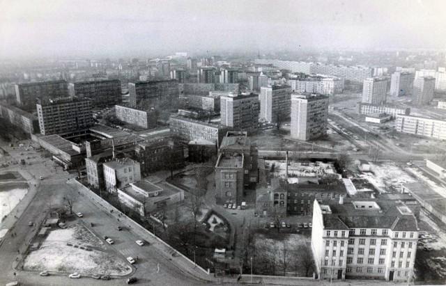 Plac Hirszfelda, 1984 r.