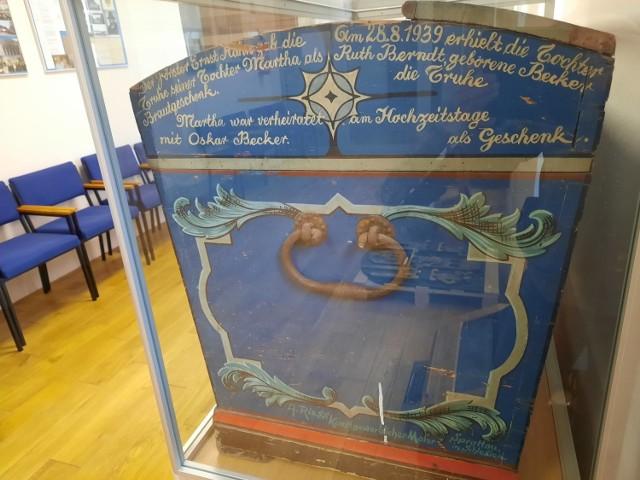 Ten kufer pokazujemy po to, abyście nabrali ochoty na odwiedziny w szprotawskim dawnym klasztorze magdalenek