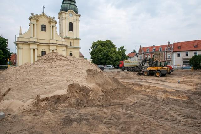 Trwają prace w Starym Fordonie. To także inwestycja wpisana do Gminnego programu Rewitalizacji. na Stary Fordon przeznaczono w nim około 50 mln zł.