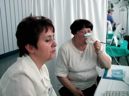 Spirometria jest podstawowym badaniem w chorobach układu oddechowego.  foto: VIOLETTA GRADEK