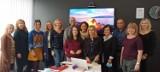 Klucze. Nauczyciele ze szkoły podstawowej na szkoleniu w Helsinkach