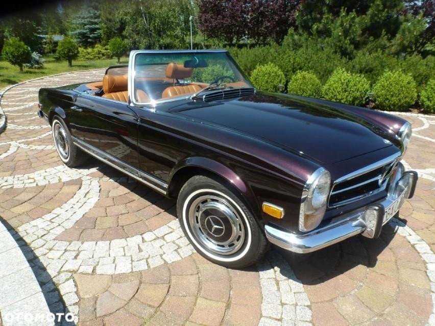 Mercedes-Benz 280 1969 68 000 km Benzyna Kabriolet 99 000...
