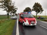 Powiat grodziski: Zderzenie trzech samochodów na DK32 [FOTO]