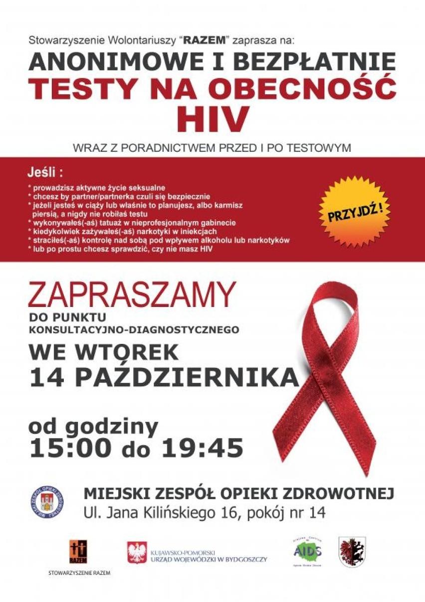 Bezpłatne Testy Na Obecność Wirusa Hiv W Mzoz Włocławek