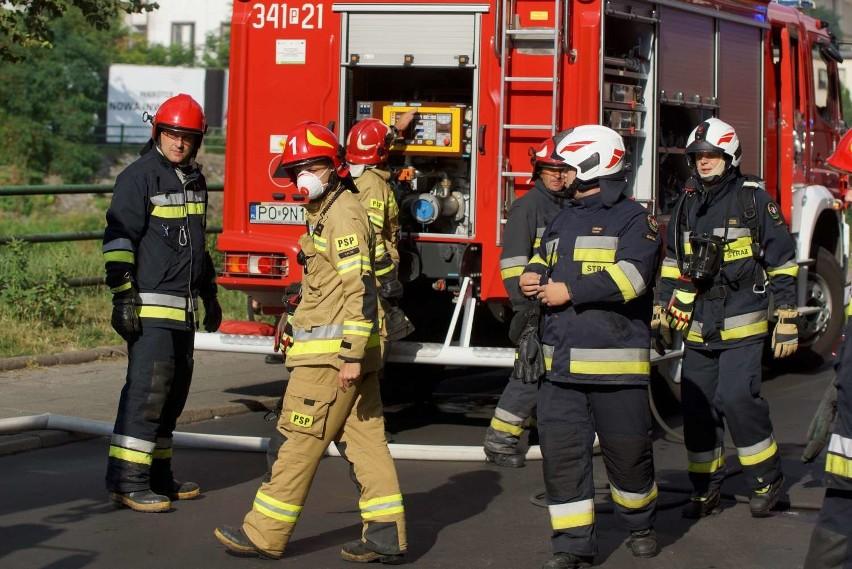 Pożar w Kaliszu. Płonęło mieszkanie przy ulicy Wodnej w...