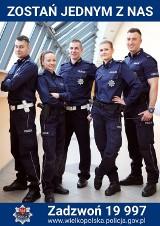 Poszukują chętnych do pracy w policji