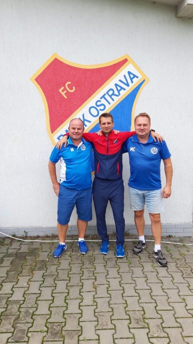 Klub z dzielnicy Raciborza - LKS 07 Markowice nawiązał współpracę z czeskim Banikiem Ostrava.