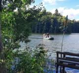 Wielka tragedia w jeziorze Lubniewsko. Z wody wyłowiono zwłoki wędkarza z Gorzowa