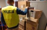 Ponad 130 tys. nielegalnych papierosów na celowniku kutnowskiej policji