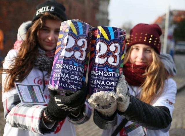 Ile zebrano na 23. finale WOŚP w Gdyni?