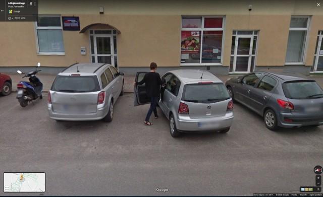 Mieszkańcy Pucka na Google Street View: część 2. Rozpoznasz ich?