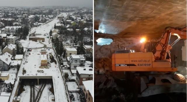 W ramach budowy Trasy Łagiewnickiej przekopano ostatni z tuneli między ulicami Ludwisarzy i Tokarską.