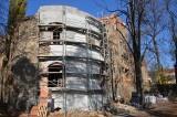 Trwa renowacja zamku w Ząbkowicach Śląskich - to kolejny etap prac