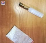 Kontrola policji w Lubartowie. 31-latek miał przy sobie narkotyki. Twierdził, że znalazł je pod sklepem