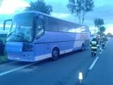 Cedry Małe - Koszwały: Wypadek autokaru z dziećmi na siódemce [ZDJĘCIA]