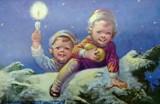 Wigilia 2017. Zobacz stare kartki świąteczne na Boże Narodzenie  [ARCHIWALNE ZDJĘCIA]