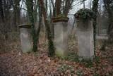 Powiat gnieźnieński. Dwa opuszczone cmentarze żydowski i ewangelicki tuż przy ruchliwej drodze. Te widoki zasmucają [FOTO]