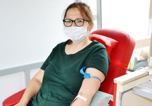 Po wstępnych badaniach do oddania krwi podczas niedawnej akcji w Rogowie zakwalifikowano ponad 50 osób