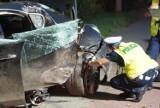 Sześć samochodów przy ul. Spokojnej w Bydgoszczy zdemolował pijany 20-latek. Trafił w ręce policji!