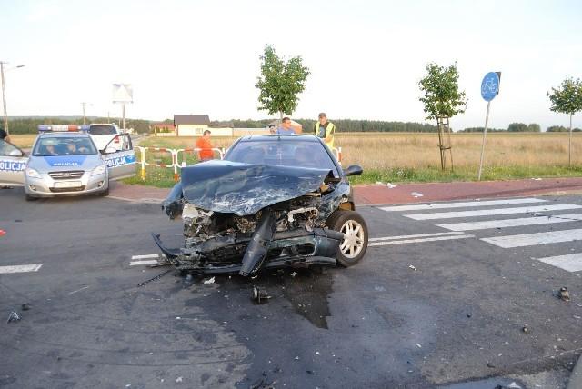 W Łekińsku w wypadku ucierpiała mała dziewczynka