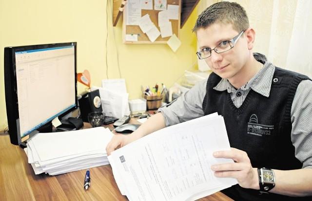 Z ponad 700 wniosków tylko sto pokrywało się z prawdą - mówi M. Czubkowski