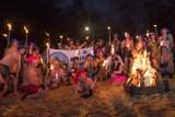 Kłobuckie morsy powitały nowy rok kąpielą w Zakrzewie