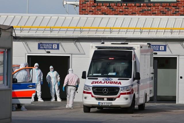 Szpital tymczasowy działa przy Rakietowej od niespełna tygodnia. Już jest niemal pełen