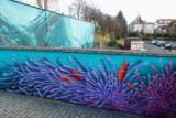 """""""Podwodny świat"""". W Rzeszowie powstał niezwykły mural [ZDJĘCIA]"""
