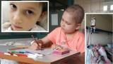Ośmioletnia Alicja z Bydgoszczy walczy z nowotworem