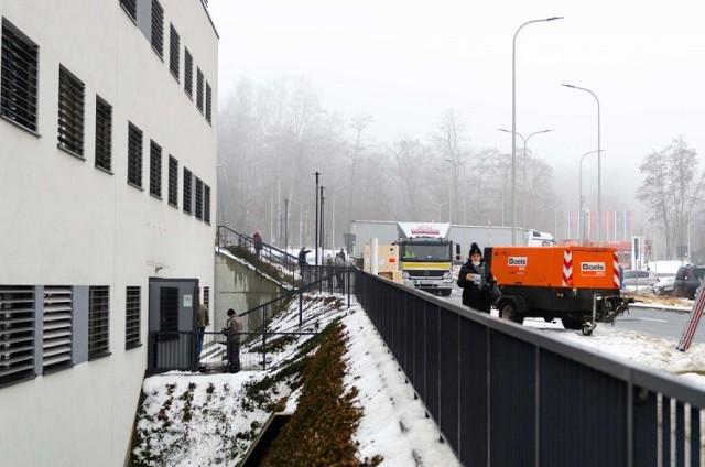 Dostarczenie rezonansu do Szpitala Uniwersyteckiego w Krakowie