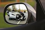 Wypadek na autostradzie. Gigantyczny korek na A4 pod Wrocławiem. Zderzyły się trzy auta