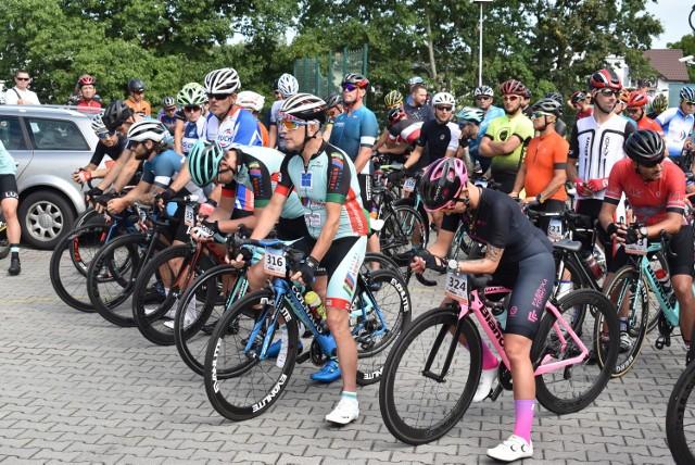 Rajdy dla frajdy w Krośnie Odrzańskim. 80 rowerzystów wystartowało w wyścigu.