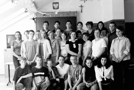 Goście ze Szkoły Realnej w Westerkappeln wraz z grupą gimnazjalistów. Foto: PATRYCJA SZEWCZYK