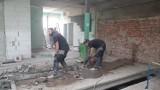 Szpital w Kaliszu buduje własną kuchnię i pralnię. ZDJĘCIA